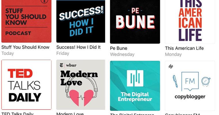 podcasturile mele preferate